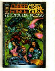 12 Cyber Force Comics # 0 1 2 3 4 5 Stryke # 1 Instinct 1 2 3 Assault 4 5 EK13