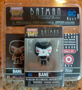 Funko Pocket Pop Target Exclusive BATMAN Animated Bane T-Shirt Pop only