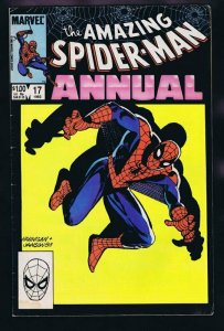 Amazing Spiderman Annual #17 ORIGINAL Vintage 1983 Marvel Comics