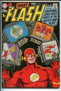 FLASH  #196 1970-DC-GIANT ISSUE-vf+