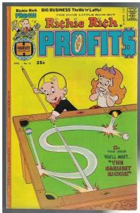 RICHIE RICH PROFITS 12 VG-F Aug. 1976