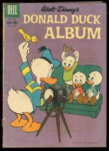 DONALD DUCK ALBUM FOUR COLOR COMICS #1140 1960 BARKS G/VG