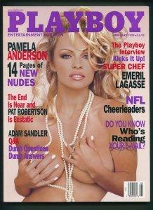 Playboy February 1999 /Pamela Anderson, Stacy Fuson POM centerfold /1999/  NM-MT