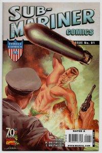 SUB-MARINER 70TH ANNIV. SPECIAL #1 (2009) New Roy Thomas Story + Origin Reprint