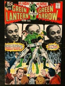 Green Lantern 84 - Neil Adams & Denny O'Neil Hard Traveling Heroes Story Line