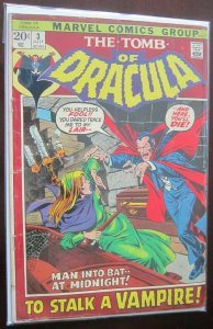 The Tomb of Dracula #3 4.0 VG (1972)