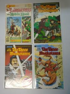 The Three Musketeers set of 3 + DC Special 8.0 VF + 6.0 FN (1976+88)