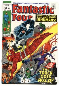 FANTASTIC FOUR #99 INHUMANS-JACK KIRBY MARVEL 1970 VF/NM