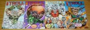 Troll #1 VF/NM one-shot + II #1 + once a hero + halloween - youngblood 4 maxx