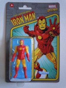 Iron-Man Marvel Legends RETRO 3.75 Collection (2021)