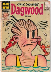 Dagwood Comics, Chic Young's #56 (Aug-55) GD- Affordable-Grade Dagwood Bumste...