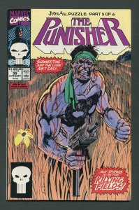 Punisher #39 / 9.0 VFN/NM  Jigsaw Part Five September 1990