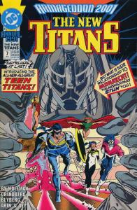 New Titans, The Annual #7 VF/NM; DC | save on shipping - details inside