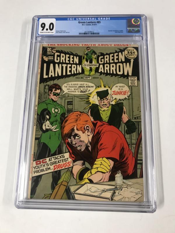 Green lantern (1960's Series) #85 CGC 9.0