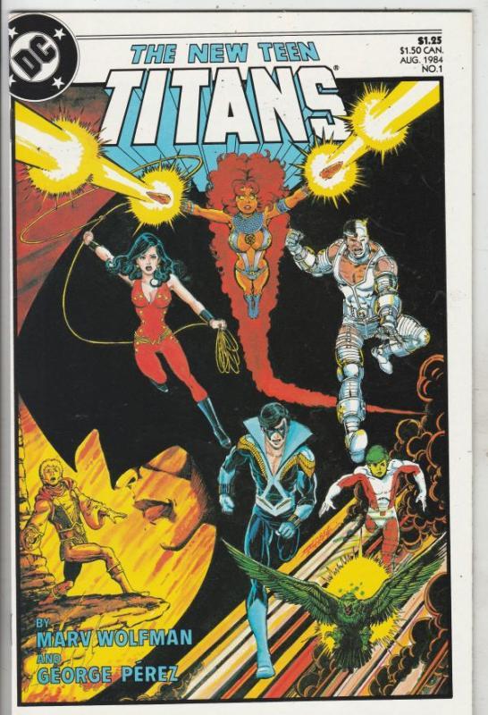 Teen Titans, the New #1 (Aug-84) NM/MT Super-High-Grade Teen Titans