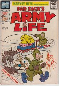 Sad Sack, Harvey Hits #17 (Feb-59) VG+ Affordable-Grade Sad Sack, Sarge, The ...