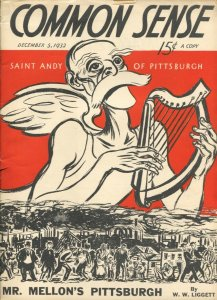 Common Sense #1 12/5/1932-1st issue-FRD-The Depression-corruption-politics-VF