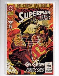 DC Comics Action Comics #688 Reign of the Supermen, Part 5 Guy Gardner