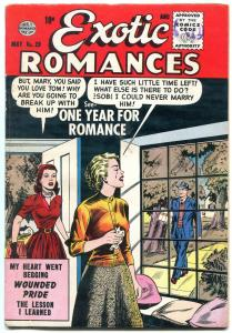 Exotic Romances #29 1956-QUALITY COMICS-WOUNDED PRIDE FN