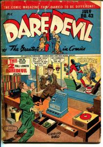Daredevil #43 1947-Lev Gleason-Norman Maurer-Dan Berry-Charles Biro-FR/G