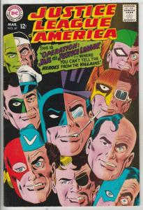 Justice League of America #61 (Mar-68) NM- High-Grade Justice League of Ameri...