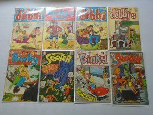 DC Archie-like comic lot 15 different issues avg 4.0 VG