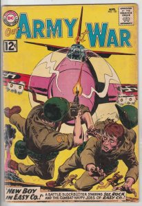 Our Army at War #121 (Aug-62) GD/VG Affordable-Grade Sgt. Rock and Easy Company