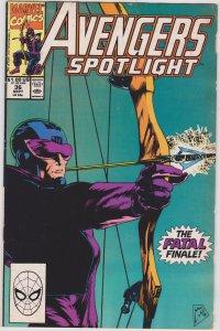 Avengers Spotlight #36