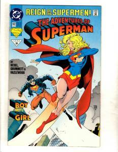11 DC Comic Books Adventure #502 512 514 516 535 601 602 603 688 0 Annual 6 J329