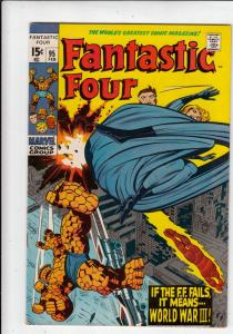 Fantastic Four #95 (Feb-70) VF High-Grade Fantastic Four, Mr. Fantastic (Reed...