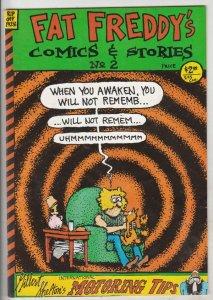 Fat Freddy's Comics & Stories #2 (Jan-85) FN/VF Mid-High-Grade The Freak Brot...