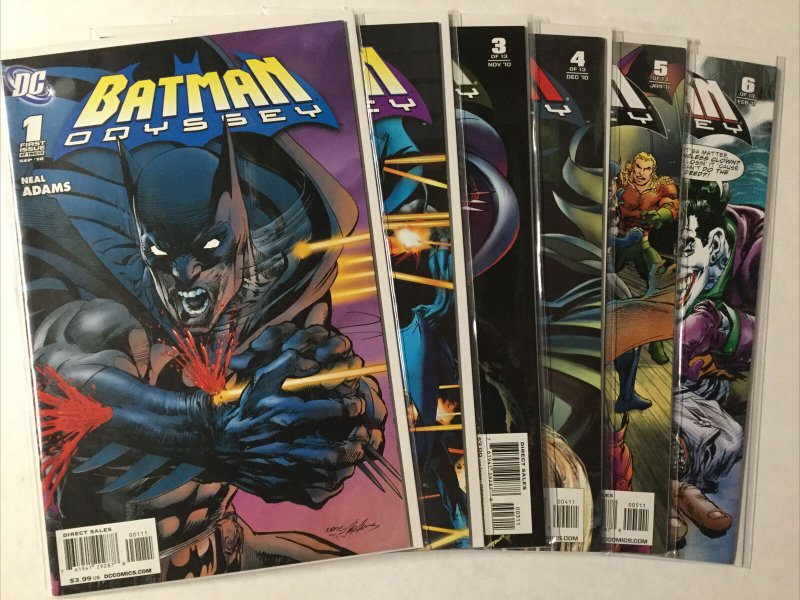Batman Odyssey 1-6 1 2 3 4 5 6 Lot Set Run Nm Near Mint Dc Comics