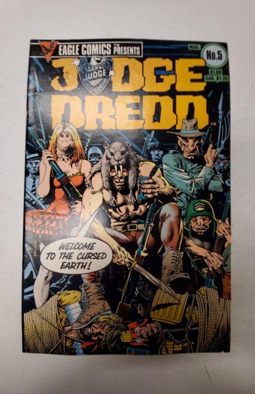 Judge Dredd (GB) #5 (1984) NM Eagle Comic Book J668