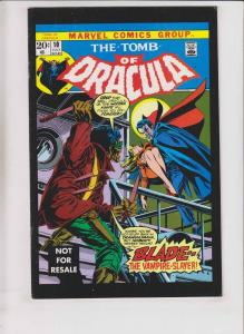 Tomb of Dracula #10 FN marv wolfman - gene colan  first appearance of blade 2005