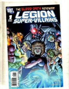 12 Comics Legion of Supervillains 1 Superheroes 1 2 3 10 11 12 13 14 15 16+ GK27