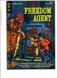 Freedom Agent #1 (Apr-63) VF- High-Grade Freedom Agent