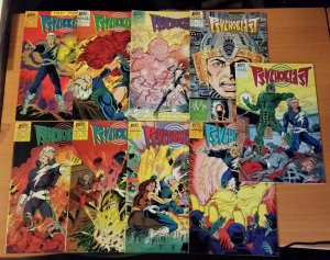 Psychoblast 1-9 Complete Set Run! ~ VERY FINE - NEAR MINT NM ~ 1987 First Comics