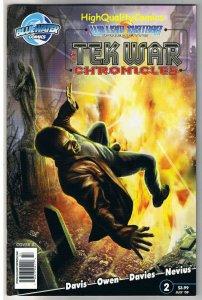 William Shatner TEK WAR CHRONICLES #2, 2009, VF, more indies in store
