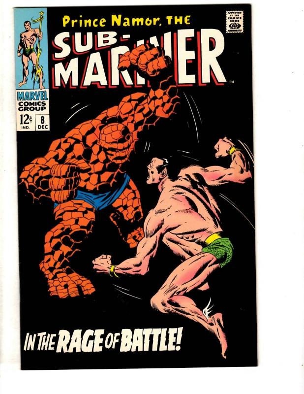 Sub-Mariner # 8 NM Marvel Comic Book Reprint JCPenney Thing Prince Namor TD7