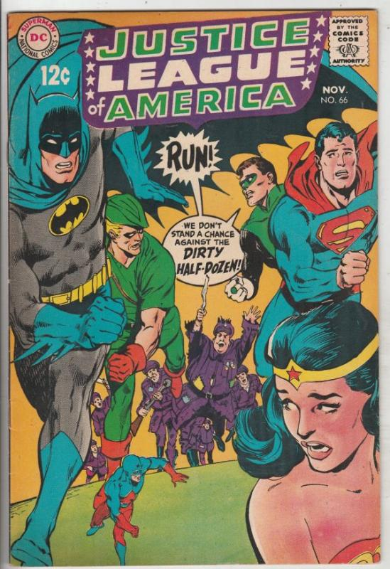 Justice League of America #66 (Nov-68) VF+ High-Grade Justice League of Ameri...