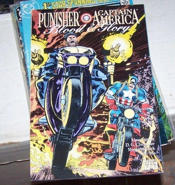 Blood and Glory [Punisher / Captain America] #2 (Nov 1992, Marvel) avengers nick