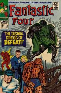 Fantastic Four (1961 series) #58, Good- (Stock photo)