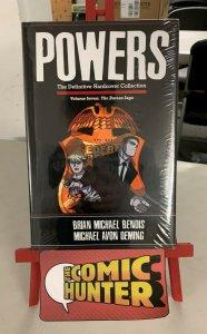 Powers The Definitive Collection Vol. 7 The Bureau HC Saga Brian Michael Bendis