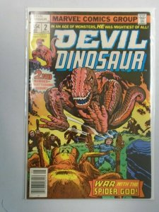 Devil Dinosaur #2 Marvel 6.0 FN (1978)
