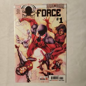 Spider-Force 1 Very Fine/Near Mint Cover by Shane Davis
