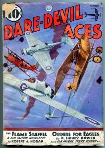 Dare-Devil Aces Pulp March 1936- Flame Staffel- Orders for Eagles