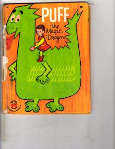 Puff The Magic Dragon Wonder Books 1965 Poor Condition DK2