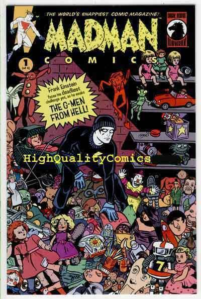 MADMAN 17, NM-, Mike Allred, G-Men from Hell, Brereton, 1994, more in store