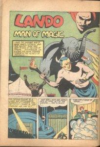 WORLDS FINEST #2-1941-SUPERMAN-BATMAN-LANDO-JOHNNY THUNDER-INCOMPLETE