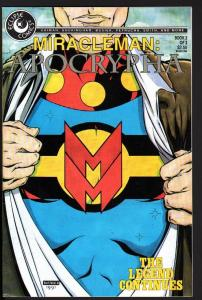 MIRACLEMAN APOCRYPHA #2-1991-ECLIPSE-COPPER AGE-NICE COPY-HIGH GRADE-NM